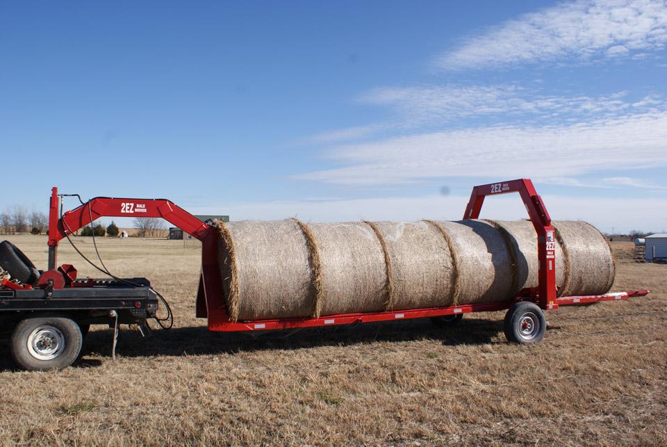 2EZ Bale Mover Hay Trailer
